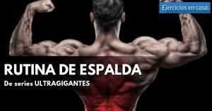 espalda musculada