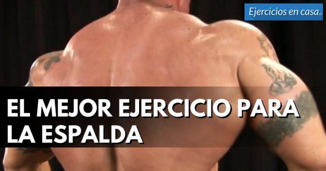 espalda musculosa y fuerte